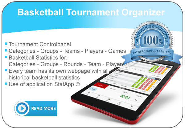 Basketball statistics application για tournament